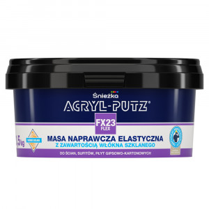 Acryl-Putz FLEX,1.4 kg, pt rosturi cu fibra sticla