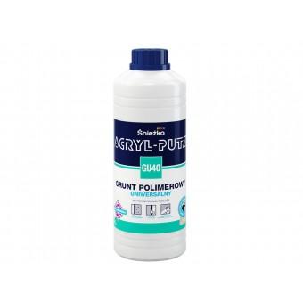 Grund    ACRYL PUTZ GU-40 int-ext,polimeric universal, 1 L Sniezka