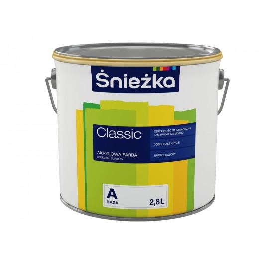 CLASSIC emulsie acrilica pt interior, baza C, 4,5L