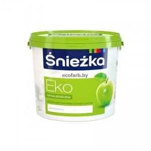 EKO-SNIEZKA , 5 L, vopsea emulsie bz.acril