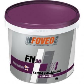 FOVEO FN 30 vopsea siliconica pentru fatada 9 L