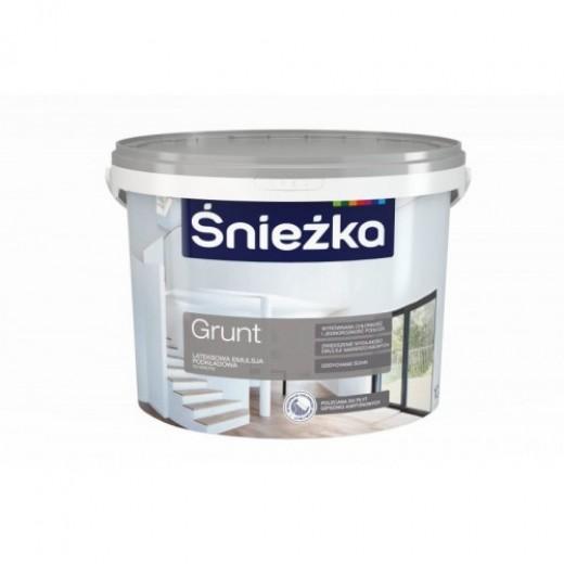 GRUND SNIEZKA,5L,alb,grund-vopsea de latex, interior
