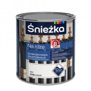 SNIEZKA NA RDZE TEFLON, 2.5 L, neagra, vopsea pt metal