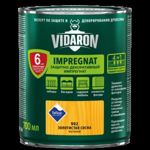 Impregnant pentru lemn Vidaron V02, 2,5L, pin de aur