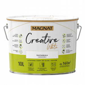 MAGNAT Creative, 2.5 L alb, vopsea interior