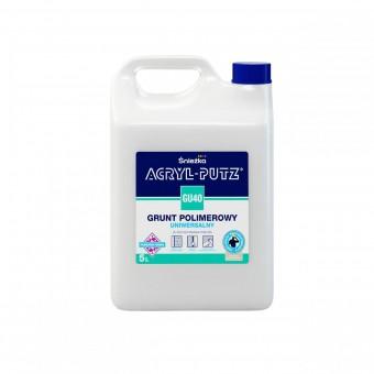 Grund    ACRYL PUTZ GU-40 int-ext,polimeric universal, 5 L Sniezka