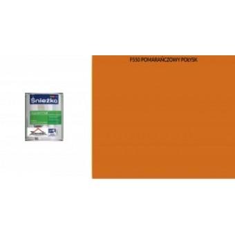 Supermal, 0,8 L, orange, vopsea email F550