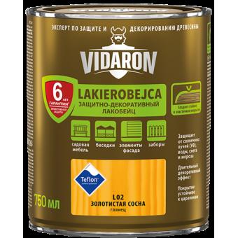 Lac VIDARON   L01 incolor, 0,75L,lac-bait pt. lemn