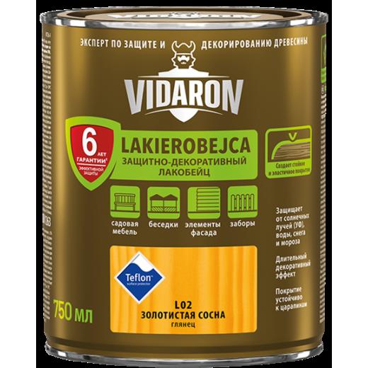 Lac VIDARON   L17 stejar albit 0,75L, lac-bait pt. lemn