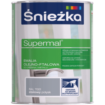 Supermal, 0,8 L, CIOCOLATA-cafeniu, vopsea email F540