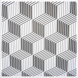 FAVORI -  MATRIX GRI 003-  600x600x8mm (10buc)Placa gips laminata PVC pt tavan