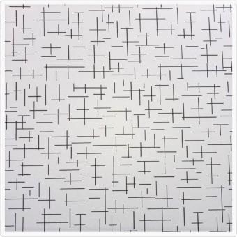 FAVORI -  LABIRENT 003 - 600x600x7mm (12buc)Placa gips laminata PVC pt tavan
