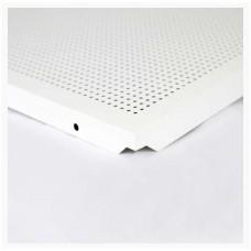 FAVORI - Placa METAL  perforata  pt tavan VT-24 (LAY-IN) 600x600x0.4 RAL 9016 (M43642)