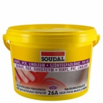 SOUDAL Adez.26 A pt linoleum,mocheta,covoare PVC. 5kg  107642