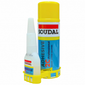 SOUDAL 2C, Kit Adeziv Rapid, 100/400ml  (24) 135624