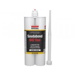 SOUDAL Adeziv Soudabond DUO 642, PU, 2x300ml 128065