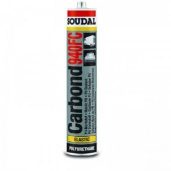 SOUDAL Carbond 940 Fc negru 310 ml,adez-izol poliur,(12) 103445