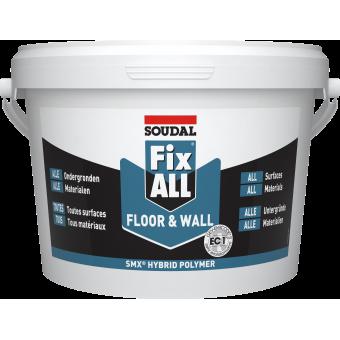 SOUDAL Adez. FIX ALL  FloorWall, alb, 4kg  120137*