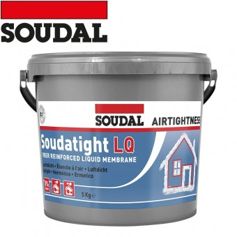 SOUDAL ST Membrana Soudatight LQ, negru, 4,5 kg. 145785
