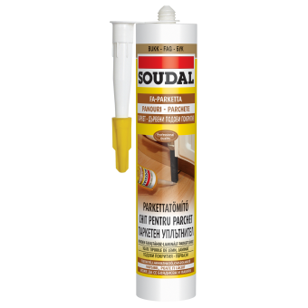 SOUDAL Chit parchet WENGE 280 ml  (15) acrilic 137691