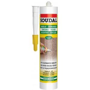 SOUDAL Mastic STRUCTURAT acrilic, ALB 280 ml (12)  123109