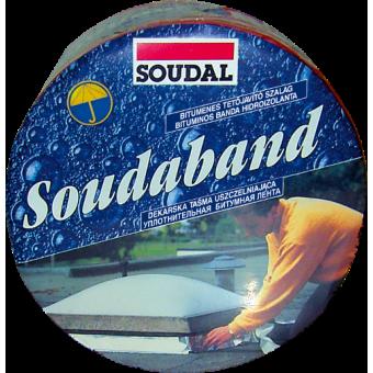 BANDA Hidroizo bitum. SOUDABAND(10 cmx10m) aluminiu 101182(6)