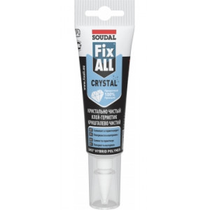 SOUDAL Adez. FIX ALL CRISTAL 125 ml (12) transparent 131081*