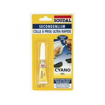 SOUDAL CYANOGEL 3.gr Adeziv instantaneu gel 119519 (12)