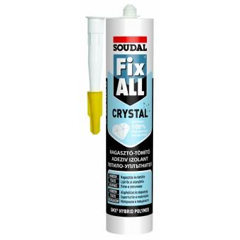 SOUDAL Adez. FIX ALL CRISTAL  290 ml (12) transparent 119382