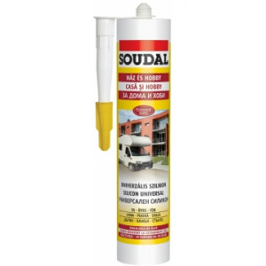 Silicon  UNIVERSAL  Transparent, 280 ml Soudal,(15) 103230,