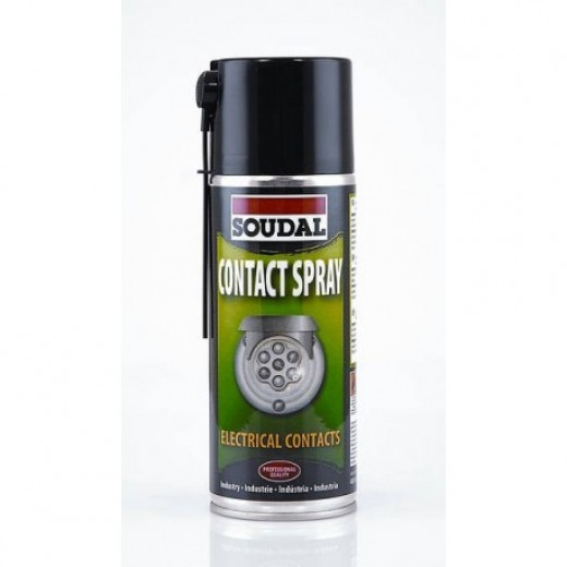 SOUDAL Spray curatator contacte, 400ml (6)  119715