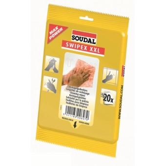 SOUDAL Swipex, servetele curatare, 20buc/pachet (12) 120874