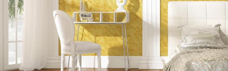 Tencuieli decorative - un mod pentru îndepărtarea plictiselii în amenajări interioare