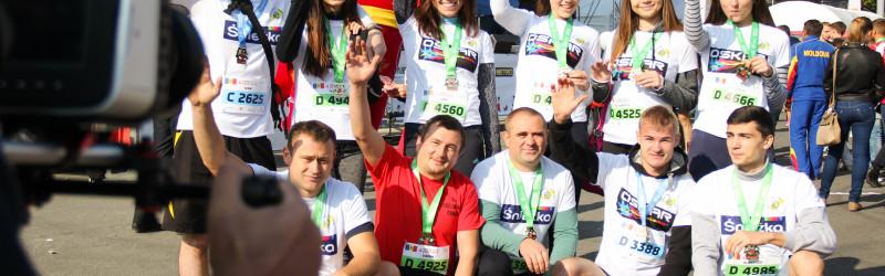 MCF la Chisinau International Marathon