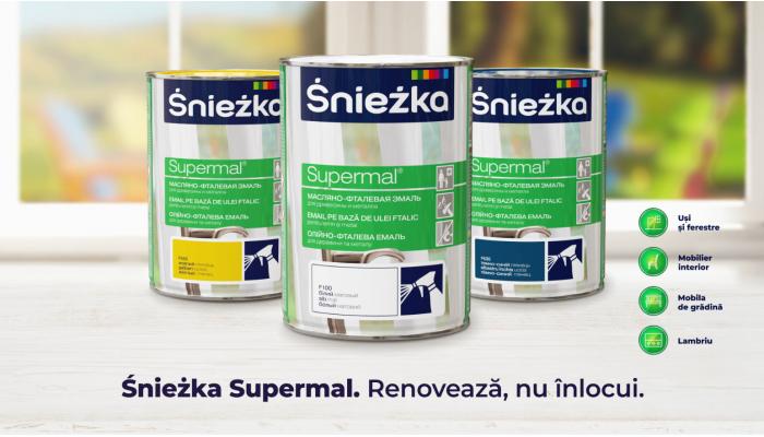 ŚNIEŻKA Supermal - renovează, nu înlocui!