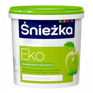 EKO-SNIEZKA , 1 L, vopsea emulsie bz.acril