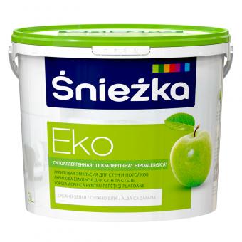 EKO-SNIEZKA , 3 L, vopsea emulsie bz.acril