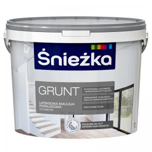 GRUND SNIEZKA,10L,alb,grund-vopsea de latex,interior