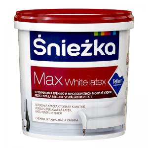 SNIEZKA MAX White Latex,    1L,emulsie int. alba