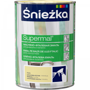 Supermal, 0,8 L, fildes, vopsea email F570