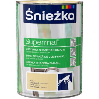 Supermal, 0,8 L, crem, vopsea email F575