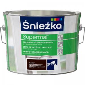 Supermal, 2,5  L, CIOCOLATA-cafeniu, vopsea email RAL 8017