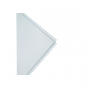 TAVAN    - Placa  METAL neteda PSV/248, 600 x 600 mm,plan, tegular,  alb