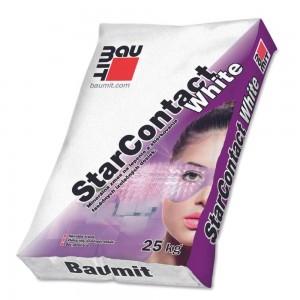 Baumit Adeziv/masa spaclu StarContactWhite, polist/vata 25 kg (54)