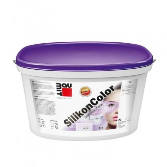 Baumit Vopsea SilikonColor siliconica fasad, 14 L GMWF (6-9) - 24