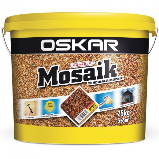OSKAR MOSAIC TENC MOZAIC 9705, 25 kg , CERAMIC