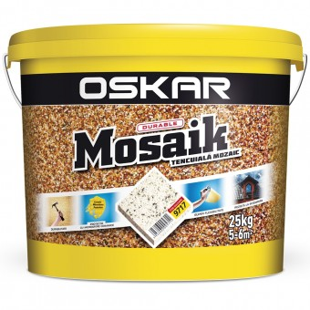 OSKAR MOSAIC TENC MOZAIC 9717, 25 kg , CERAMIC