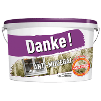 DANKE Anti-MUCEGAI  8.5L, vopsea lavabila