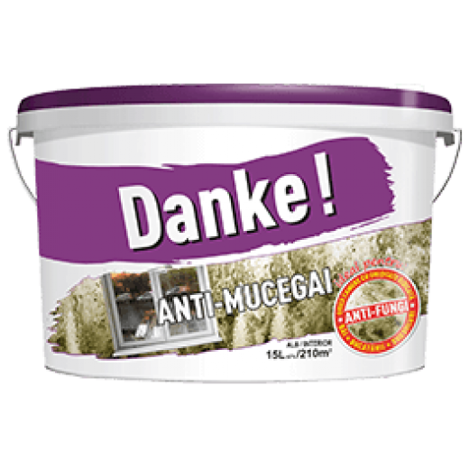 DANKE Anti-MUCEGAI  4L, vopsea lavabila