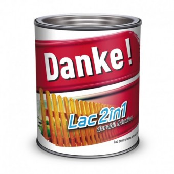 DANKE LAC COLORAT 2IN1, 0.75L, STEJAR